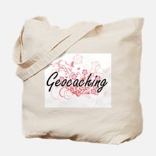 Cute I love geocaching Tote Bag