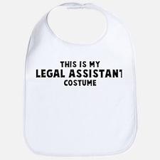 Legal Assistant costume Bib