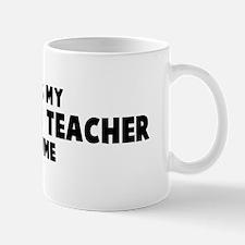 Statistics Teacher costume Mug