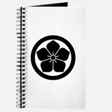 Balloonflower in circle Journal