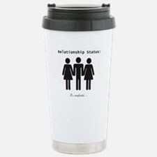 Complicated Stainless Steel Travel Mug