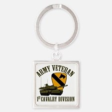 Cool Vietnam veteran Square Keychain