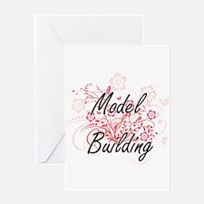 Model Building Artistic Design wit Greeting Cards