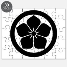 Balloonflower in circle Puzzle