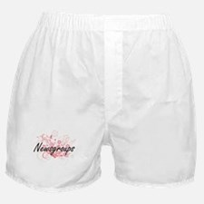 Newsgroups Artistic Design with Flowe Boxer Shorts