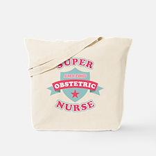 Super Obstetric Nurse Tote Bag