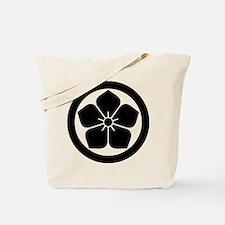 Balloonflower in circle Tote Bag