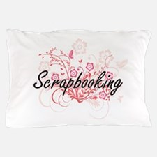 Scrapbooking Artistic Design with Flow Pillow Case