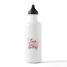 Train Spotting Artisti Water Bottle