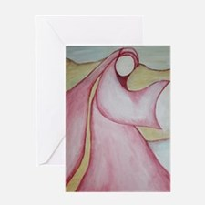 "Mary Magdalene; ""The Wayshower"" Greeting Cards"