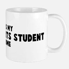 Language Arts Student costume Mug
