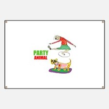 Party Animal Banner