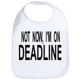 Journalism Cotton Bibs
