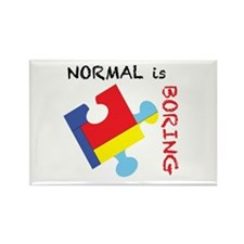 Normal is Boring Magnets
