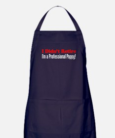 Didn't Retire Professional Poppy Apron (dark)