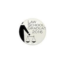 Cute Law school graduation Mini Button