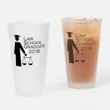 Cute Law school graduation Drinking Glass