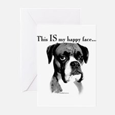 Unique Boxer Greeting Cards (Pk of 20)