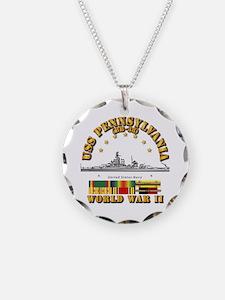 USS Pennsylvania (BB-38) Necklace