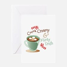 Cocoa Creamy Greeting Cards