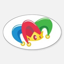 Jester Hat Decal