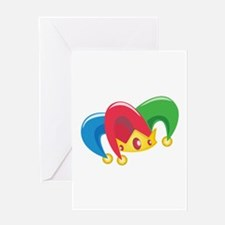 Jester Hat Greeting Cards