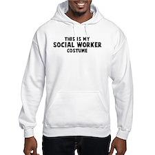 Social Worker costume Hoodie