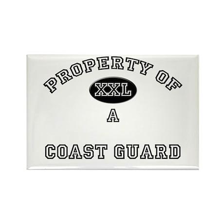 Property of a Coast Guard Rectangle Magnet