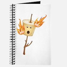 Flaming Marshmallow Journal