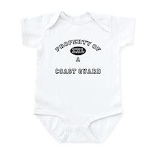 Property of a Coast Guard Infant Bodysuit