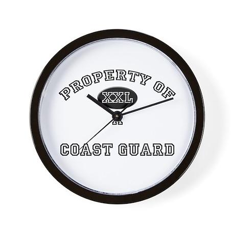 Property of a Coast Guard Wall Clock