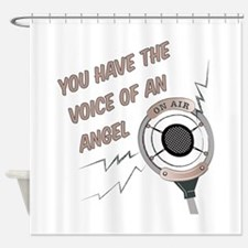 Voice Of Angel Shower Curtain