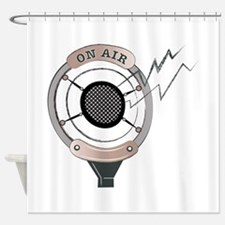 On Air Shower Curtain