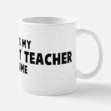 Technology Teacher costume Mug