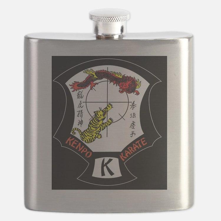 Cute Kenpo Flask