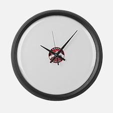 Kenpo Karate Hands Large Wall Clock