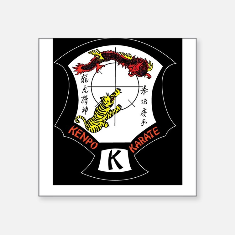Kenpo Karate Crest Sticker