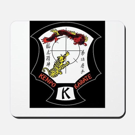 Kenpo Karate Crest Mousepad