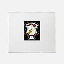Kenpo Karate Crest Throw Blanket