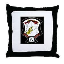 Kenpo Karate Crest Throw Pillow