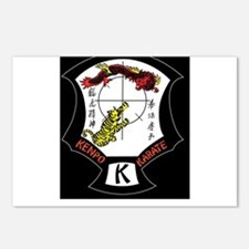 Kenpo Karate Crest Postcards (Package of 8)