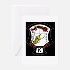 Kenpo Karate Crest Greeting Cards