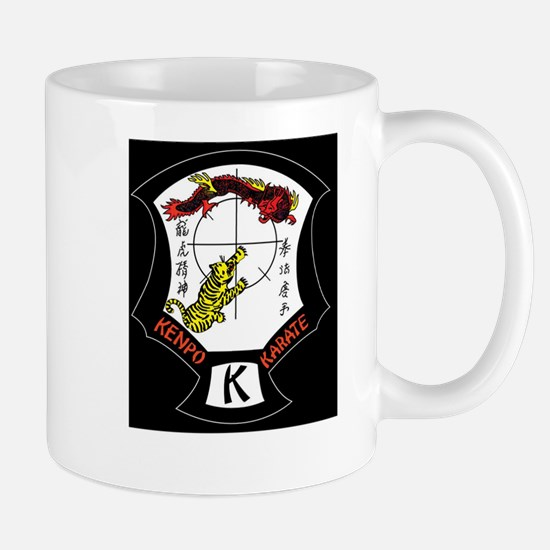 Kenpo Karate Crest Mugs