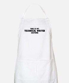 Technical Writer costume BBQ Apron