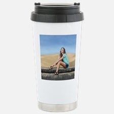 Summer At The Beach Stainless Steel Travel Mug