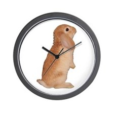 """Bunny 7"" Wall Clock"