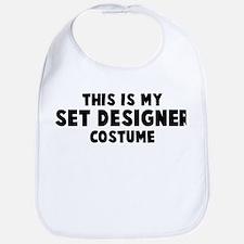 Set Designer costume Bib
