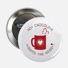 """Warms The Heart 2.25"""" Button (10 pack)"""