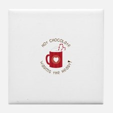 Warms The Heart Tile Coaster