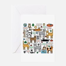What Cats Say Greeting Cards